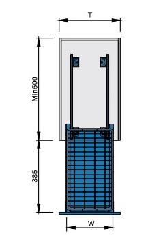 Bản vẽ Kệ để gia vị 3 tầng