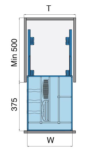 Bản vẽ Kệ đựng gia vị 3 tầng - inox bản