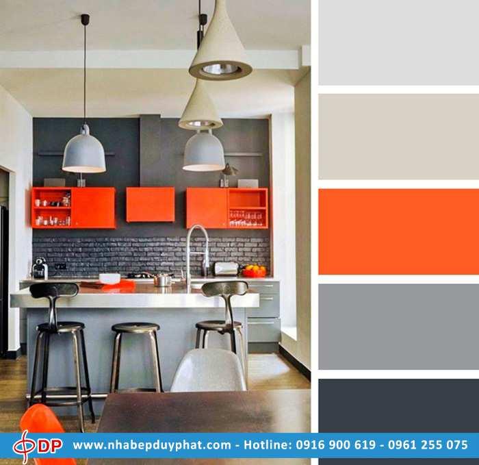 Gợi ý lựa chọn màu sắc cho không gian phòng bếp