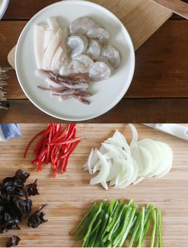 Miến trộn hải sản, vừa thơm ngon lại đủ chất