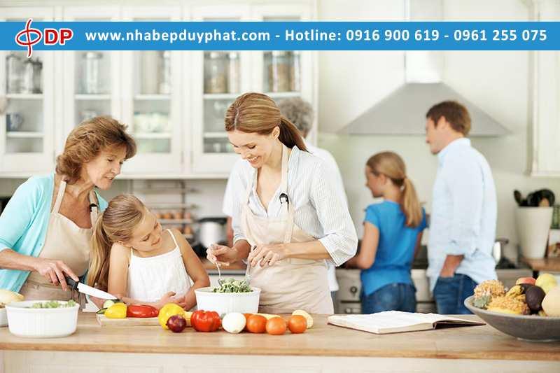 Phòng tránh tai nạn trong gian bếp