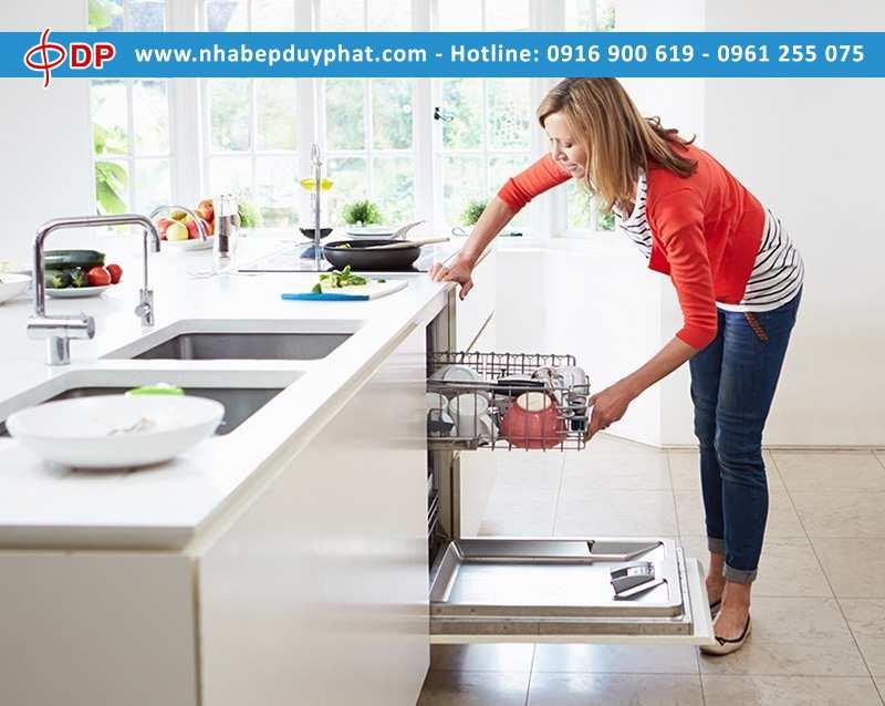 Vệ sinh khoang rửa bát cực nhanh